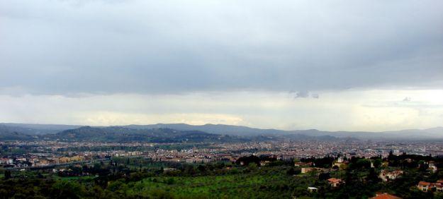 Вилла Гамберайя. Вид на Флоренцию