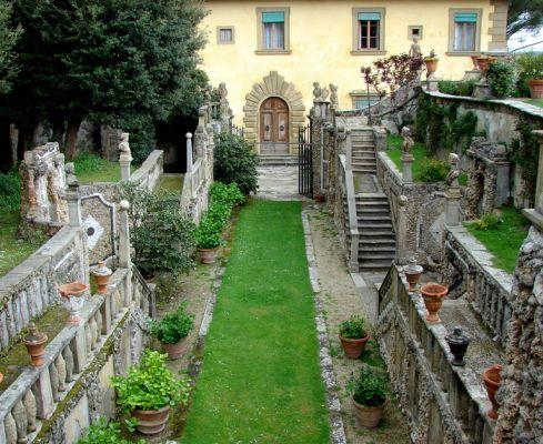 Вилла Гамберайя. Секретный сад